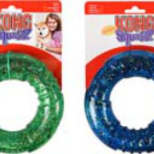 KONG SQUEEZZ CONFETTI RING L ASSORT