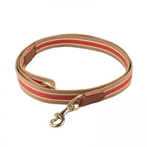 Bravery Leash Red Brown 22mm 100cm