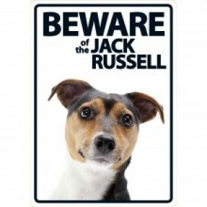BEWARE OF THE JACK RUSSEL SIGN