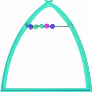 TOY TRIANGLE SWING+ABACUS+BELL 10X1