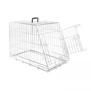 WIRE CAGE WITH SLOPING SIDE L