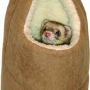 FERRET HOUSE BROWN SUEDE LARGE