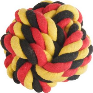 COTT SOCCER KNOT BALL BLK/YEL/RED15