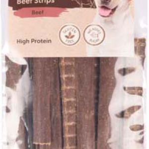 NATURE SNACK BEEF STRIPS 100G 11CM