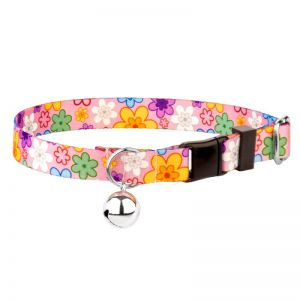 CAT COLLAR FLOWERS 10MM