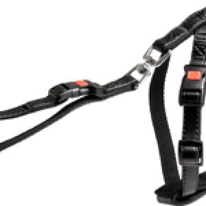 CAR SAFETY HARNESS BLACK ART S
