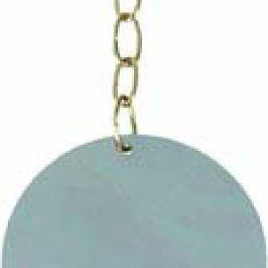 TOYS FOR PARROT MIRROR ROUND+BELL X