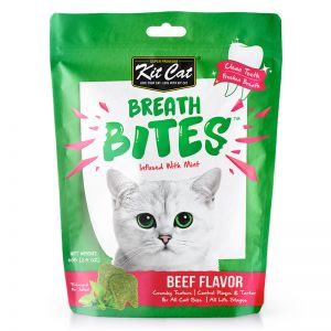 KITCAT BREATH BITES BEEF 60G